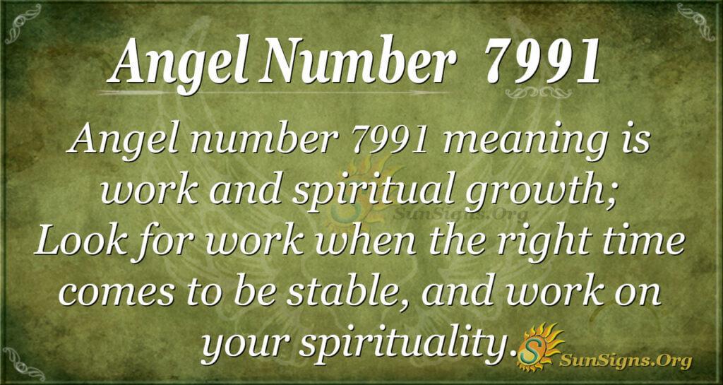 7991 angel number