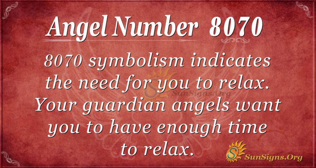 8070 angel number