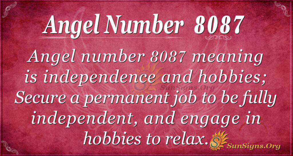 8087 angel number