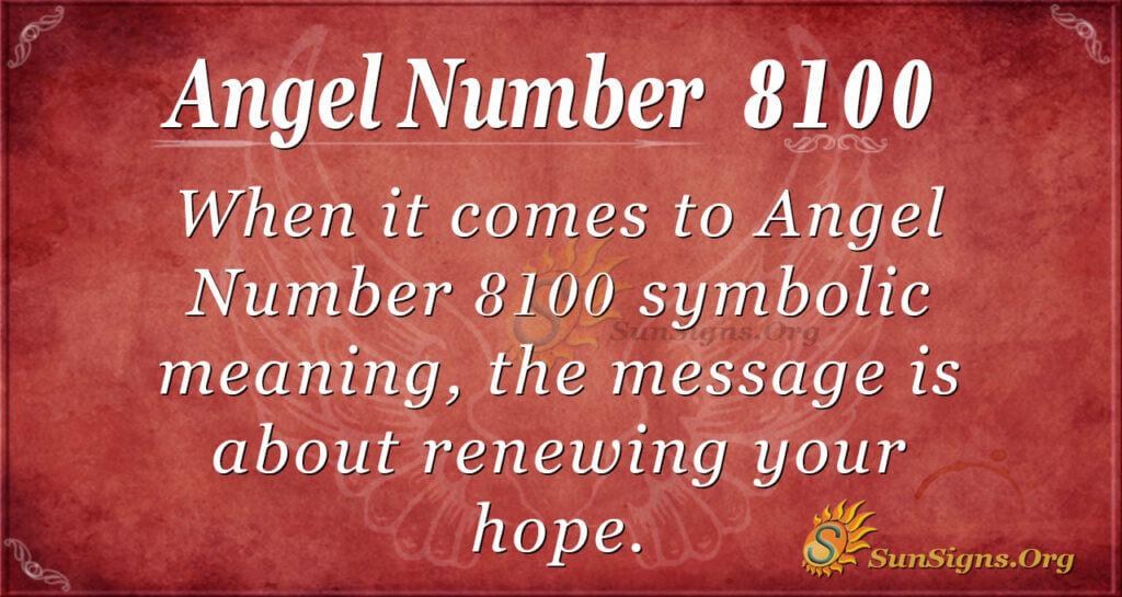 8100 angel number