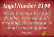 8100 angel number