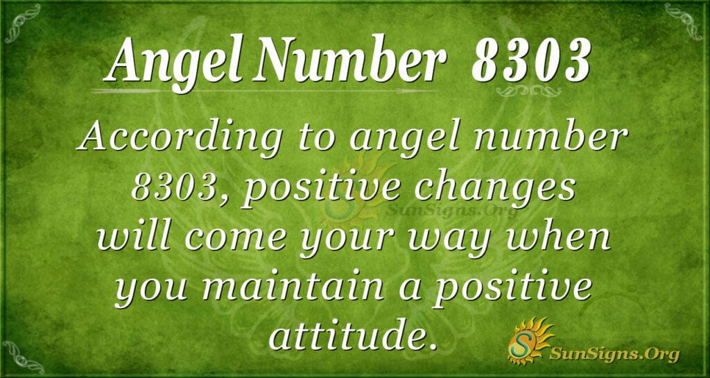 8303 angel number