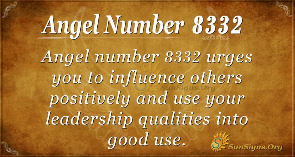 8332 angel number