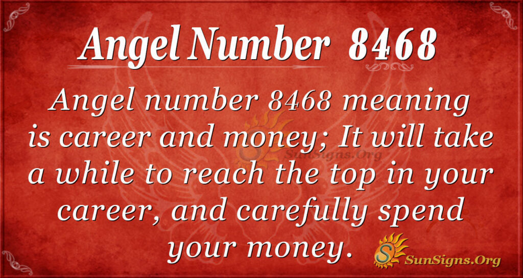 8468 angel number