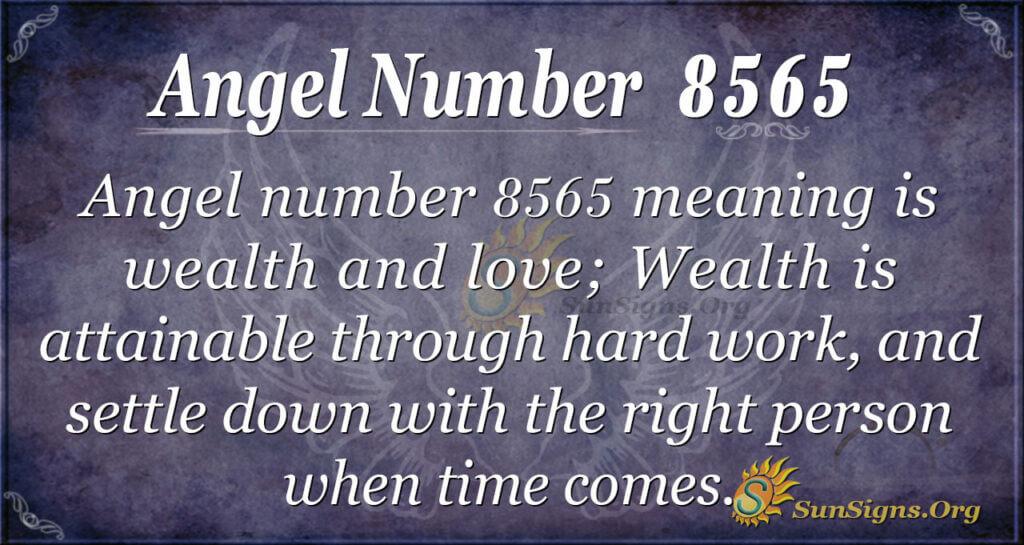 8565 angel number