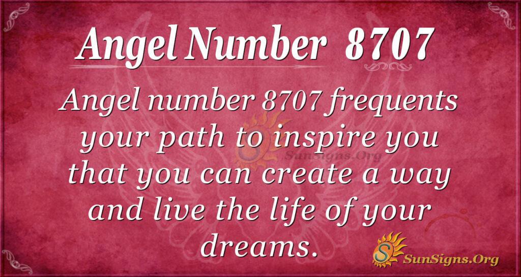 8707 angel number