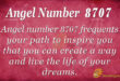 8707 angel number