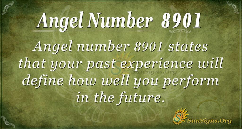 8901 angel number