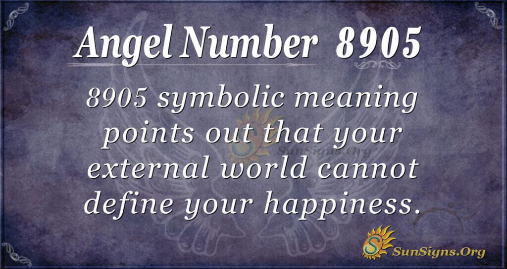 8905 angel number