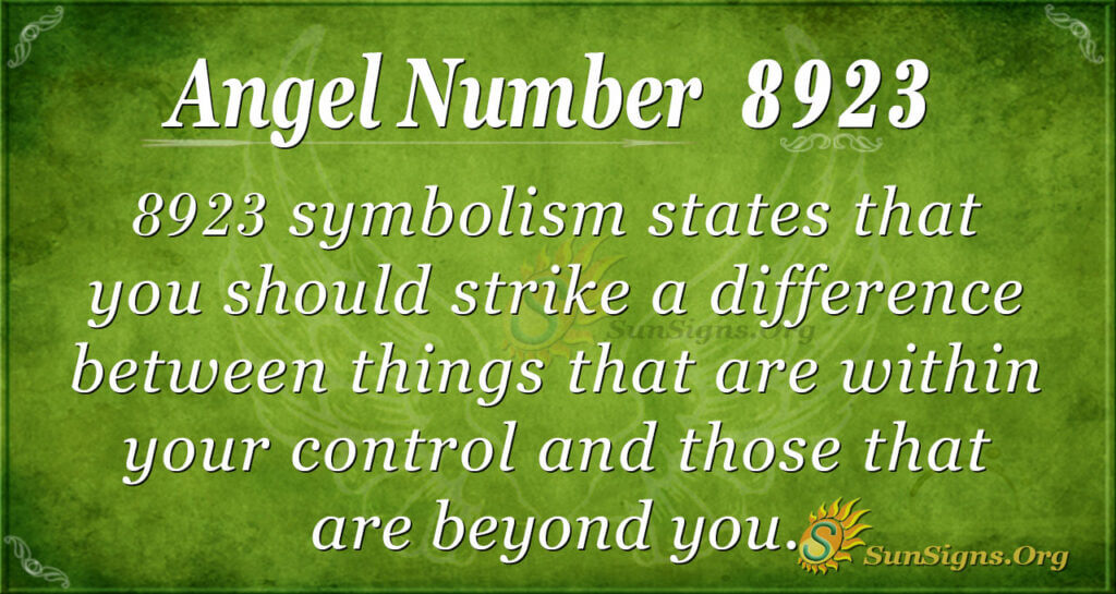 8923 angel number