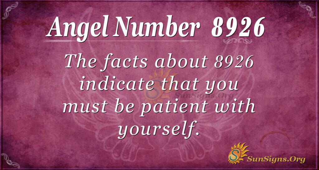 8926 angel number