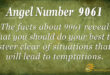 9061 angel number