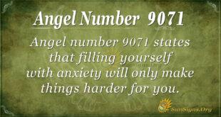 9071 angel number