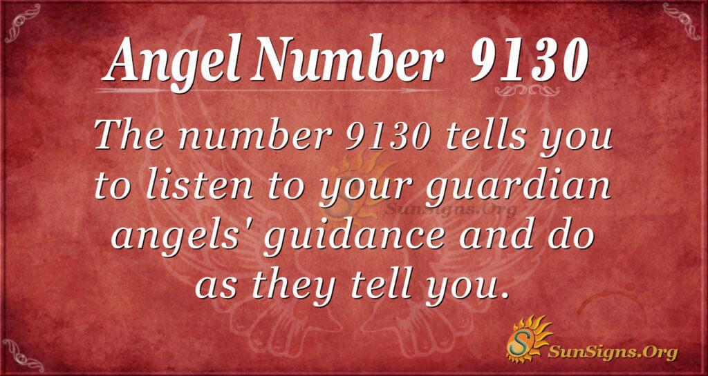 9130 angel number
