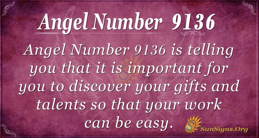 9136 angel number