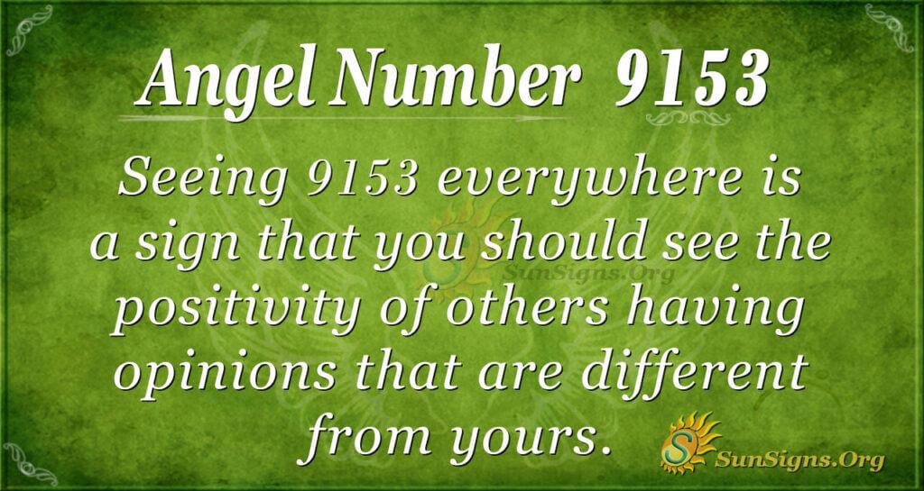 9153 angel number