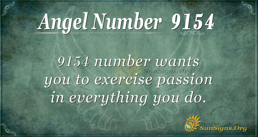 9154 angel number