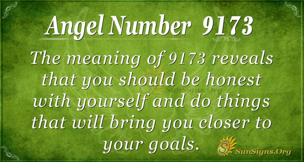 9173 angel number