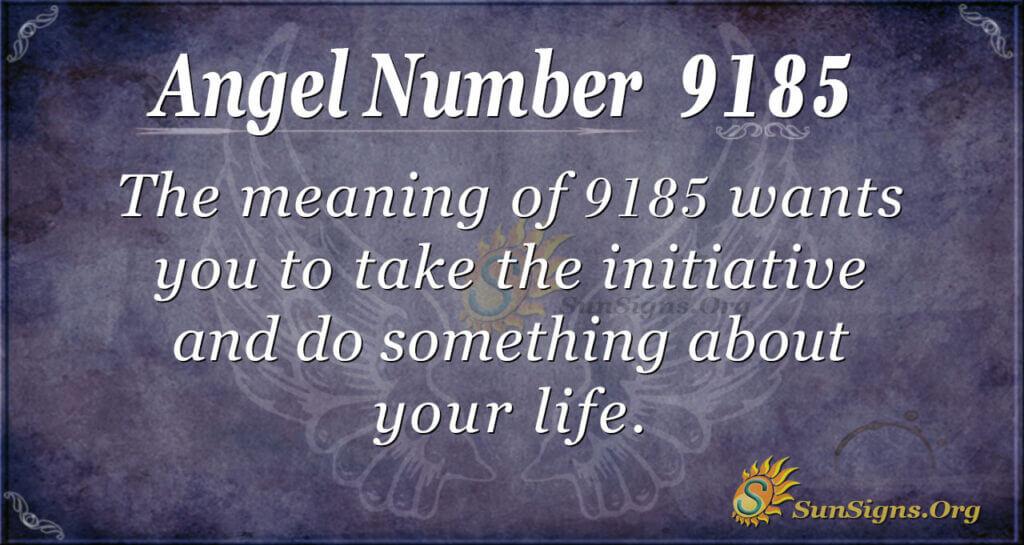 9185 angel number