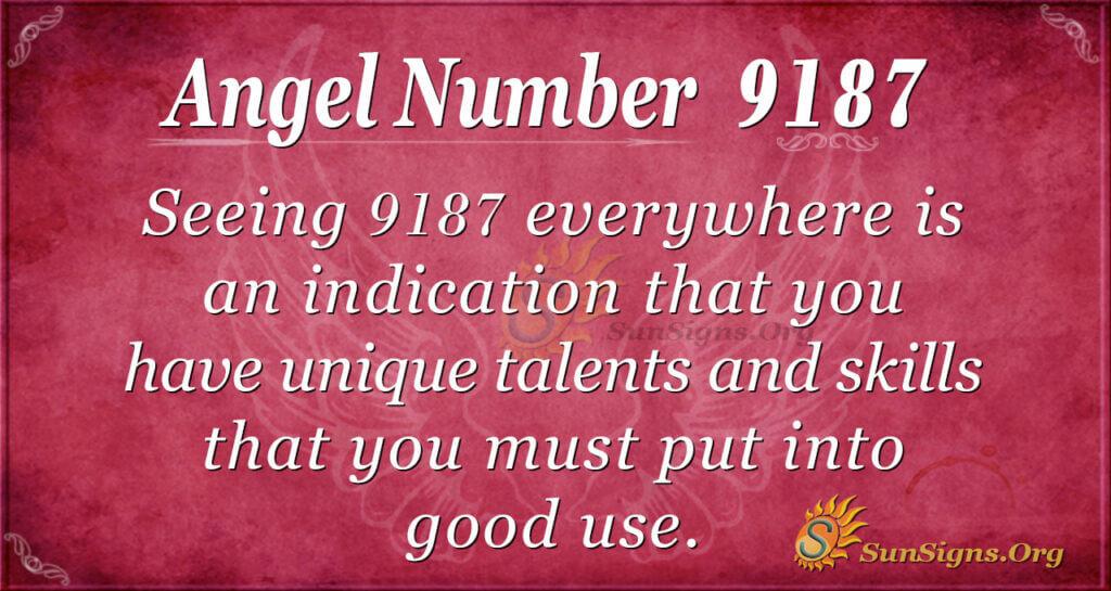 9187 angel number