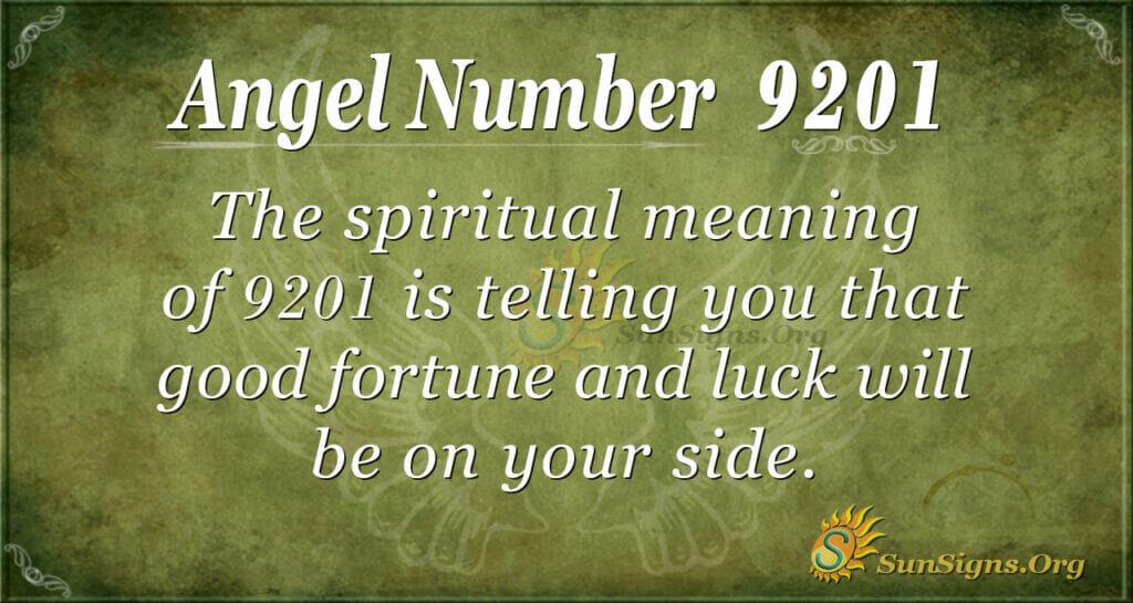 9201 angel number