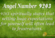 9203 angel number