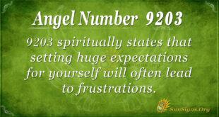 9203 angel number