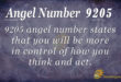 9205 angel number