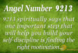 9213 angel number