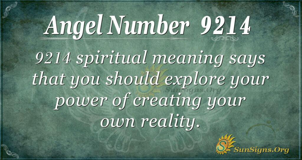 9214 angel number