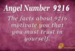 9216 angel number