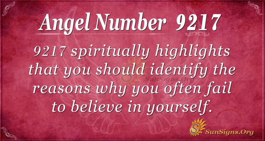 9217 angel number