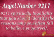9217 angel number