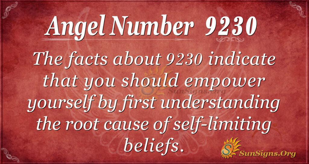 9230 angel number