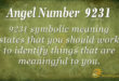 9231 angel number