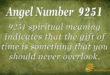 9251 angel number