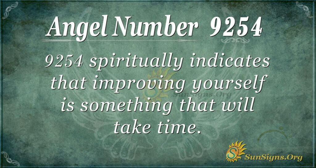 9254 angel number