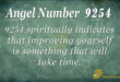 9254 angel number
