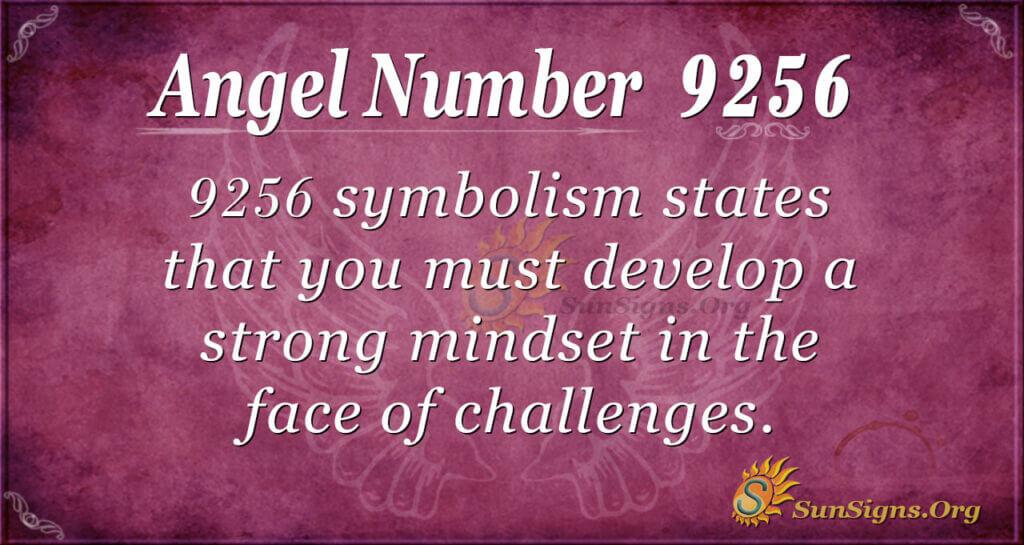 9256 angel number