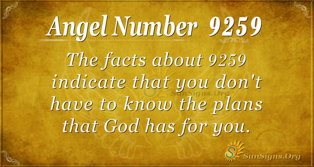 9259 angel number
