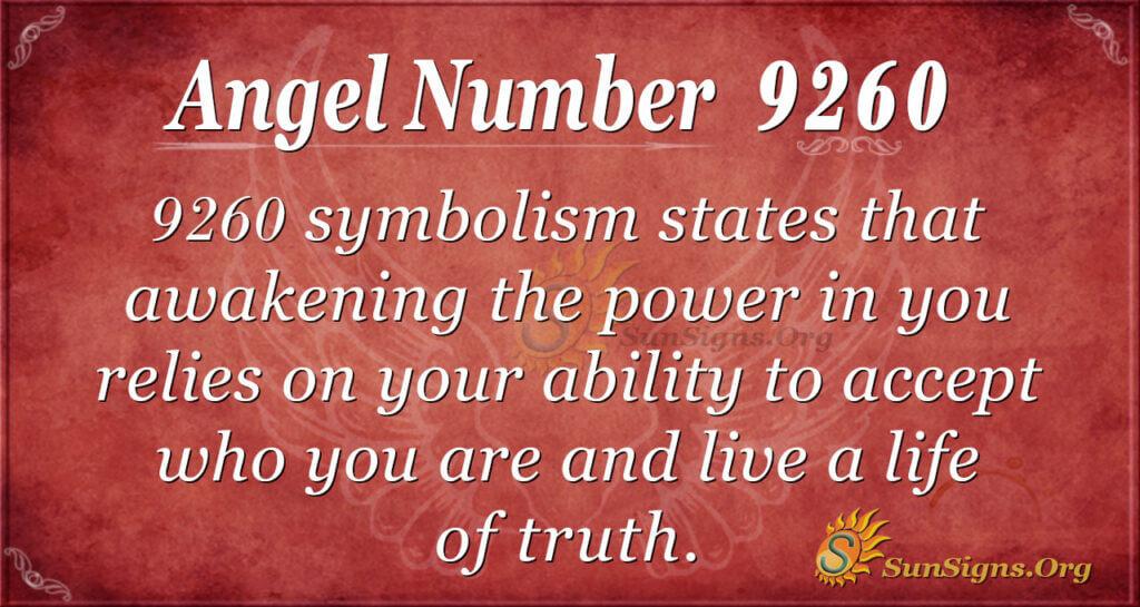 9260 angel number