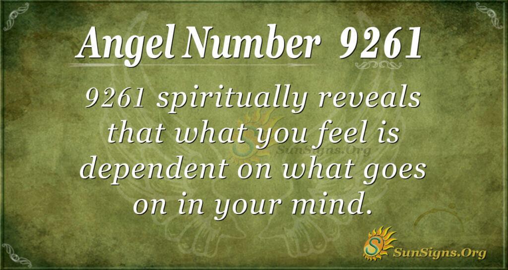 9261 angel number