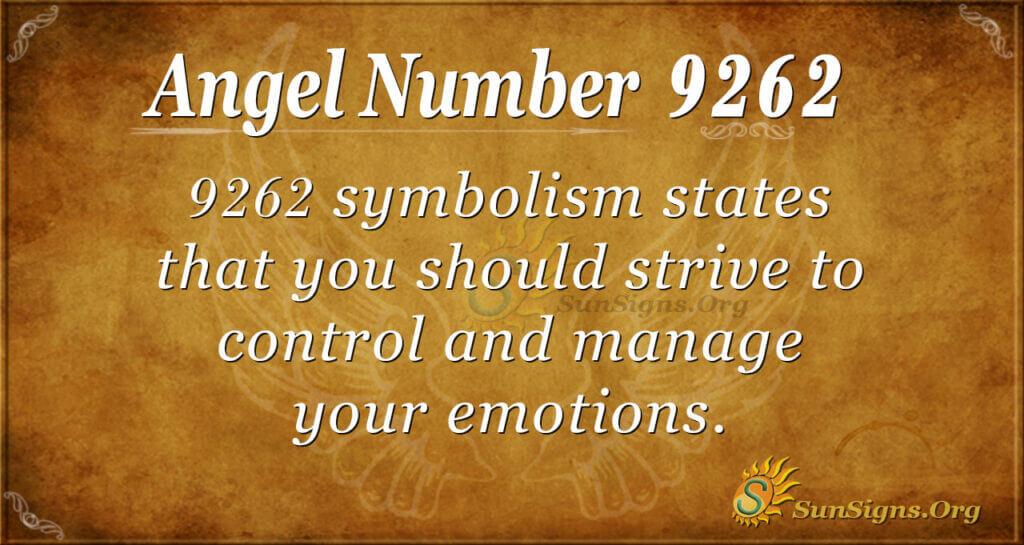 9262 angel number