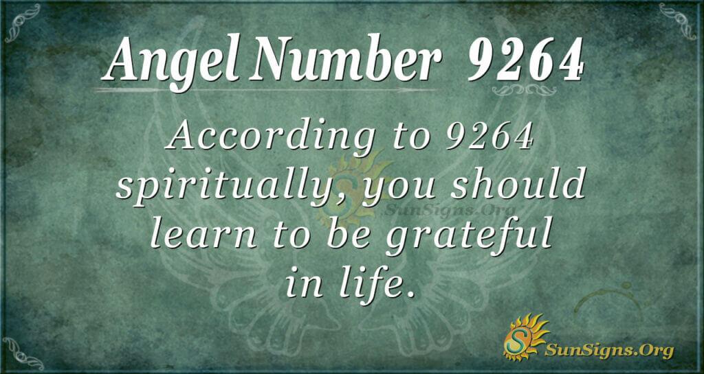 9264 angel number