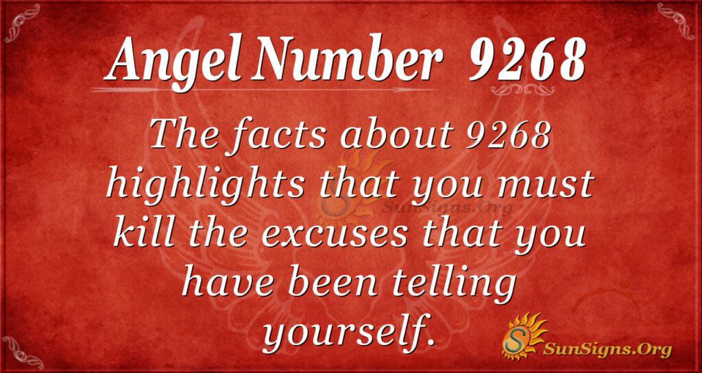 9268 angel number