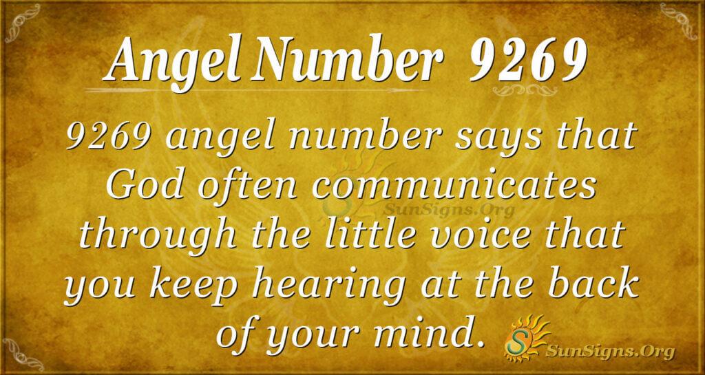 9269 angel number