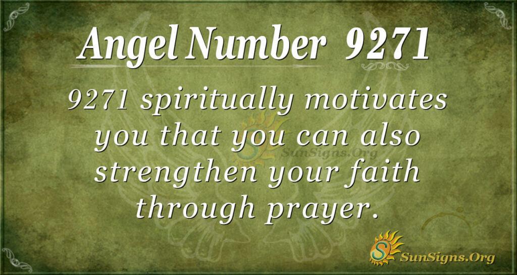 9271 angel number