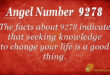 9278 angel number