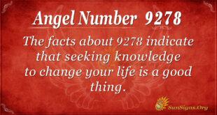 9278 angel number