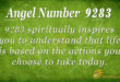 9283 angel number